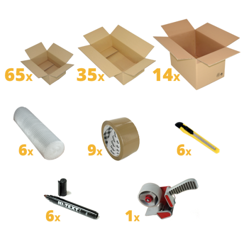 Removal Pack for 6 Bedrooms